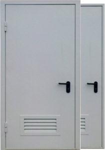 двери с вентиляцией одопольные под заказ