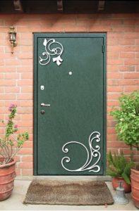 двери в дом порошок с ковкой купить