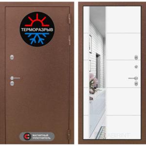дверь термомагнит в порошке с зеркалом