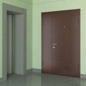двери тамбүрные в порошке под заказ
