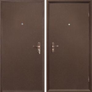 металлическая техническая дверь в порошке заказать