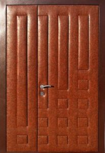 двери металлические в дермантине от производителя