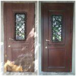 Замена панелей Мдф и Пвх на входных дверях